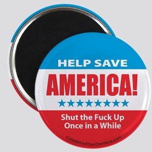 Help Save America Magnet