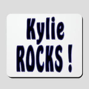 Kylie Rocks ! Mousepad