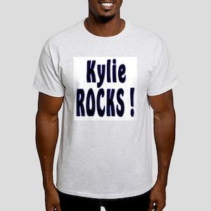 Kylie Rocks ! Ash Grey T-Shirt