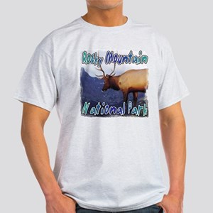 Rocky Mountain National Park Light T-Shirt