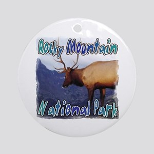 Rocky Mountain National Park Ornament (Round)