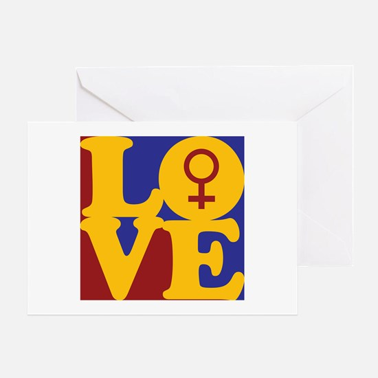 Feminism Love Greeting Card