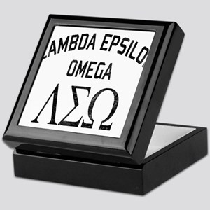 Old School Fraternity Keepsake Box