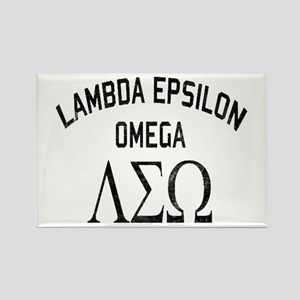 Old School Fraternity Rectangle Magnet
