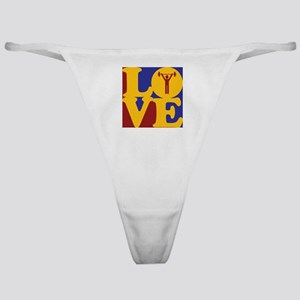 Exercise Love Classic Thong