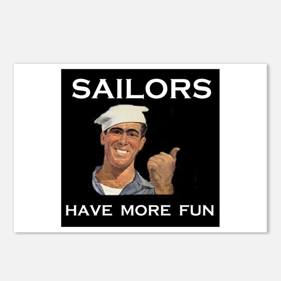 SAILORS Postcards (Package of 8)