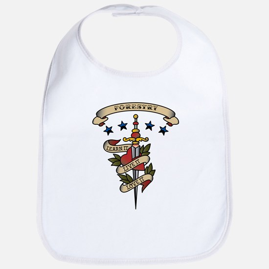 Love Forestry Bib