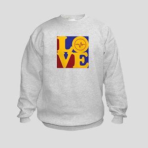 EEG Love Kids Sweatshirt