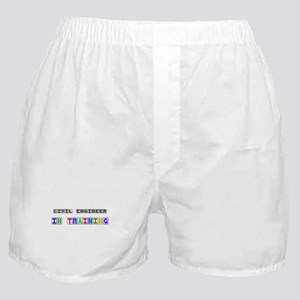 Civil Engineer In Training Boxer Shorts