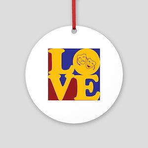 Drama Love Ornament (Round)