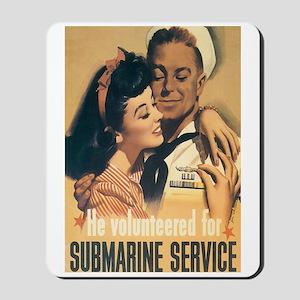US Navy Submarine Mousepad
