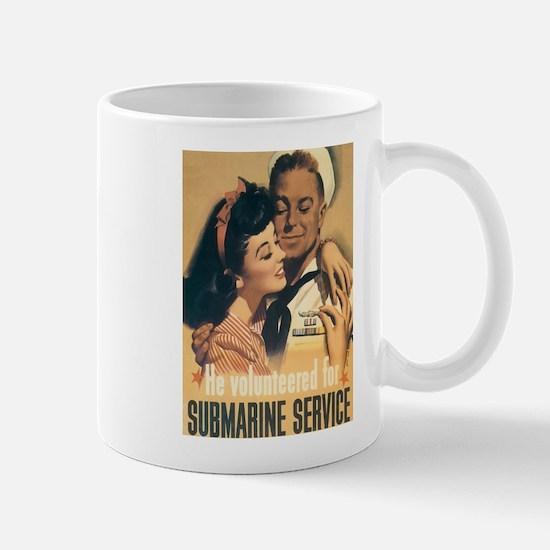 US Navy Submarine Mug
