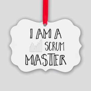 I Am A Scrum Master Picture Ornament