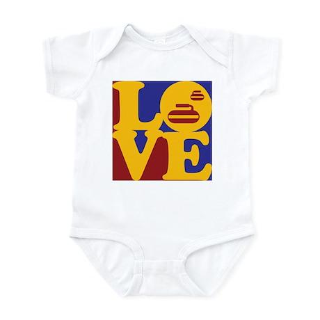 Curling Love Infant Bodysuit