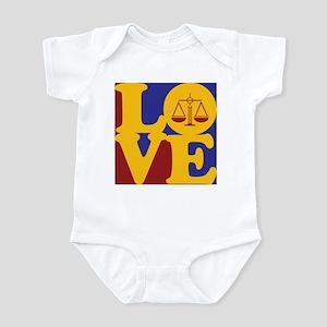 Criminal Justice Love Infant Bodysuit