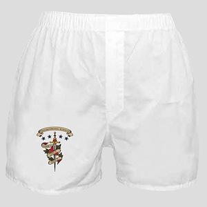 Love Environmental Science Boxer Shorts