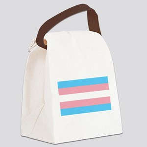 Transgender Pride Flag - LGBT Rai Canvas Lunch Bag