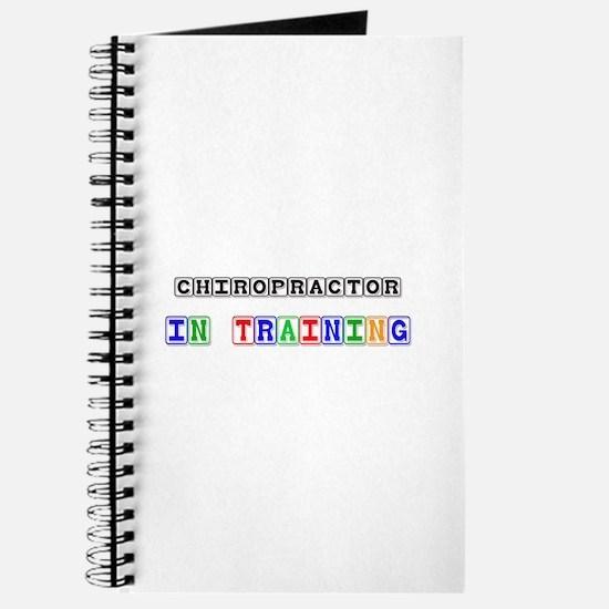 Chiropractor In Training Journal