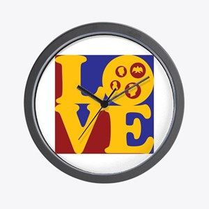 Coins Love Wall Clock