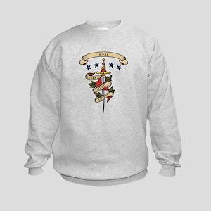Love EEG Kids Sweatshirt