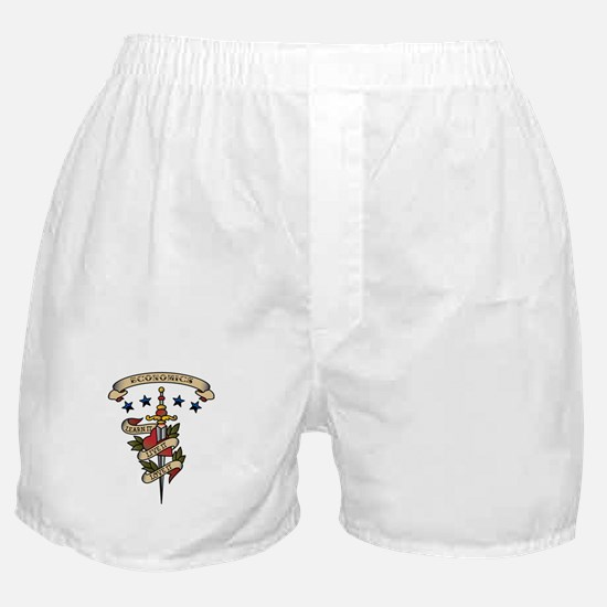 Love Economics Boxer Shorts