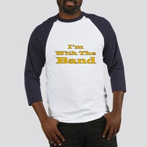 I'm With The Band - Gold/Black Baseball Jersey