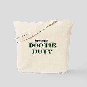 Dootie Duty Tote Bag