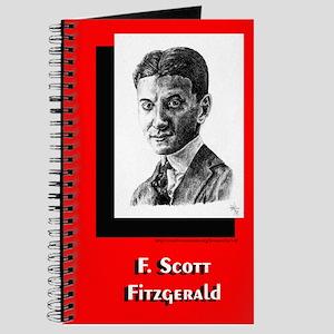 Portrait of F. Scott Fitzgerald- Writer's Notebook