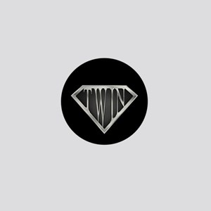 SuperTwin(metal) Mini Button