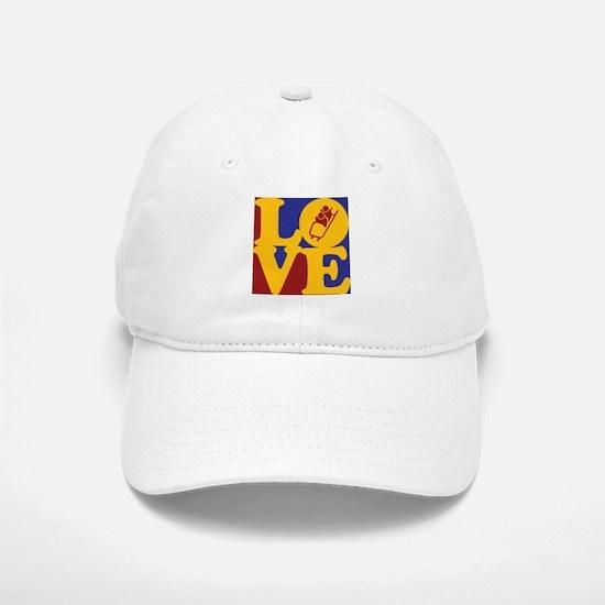 Bobsled Love Baseball Baseball Cap