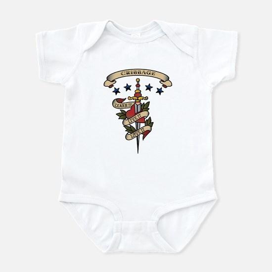 Love Cribbage Infant Bodysuit