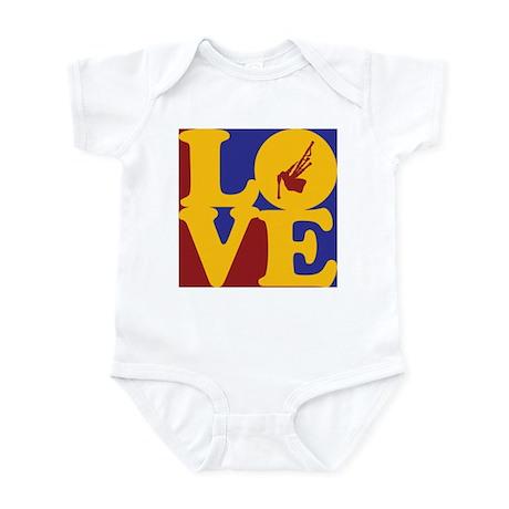 Bagpipes Love Infant Bodysuit