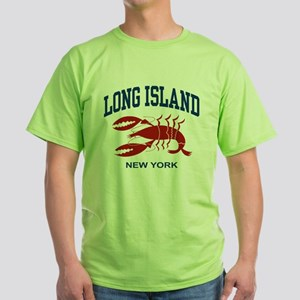 Long Island New York Green T-Shirt