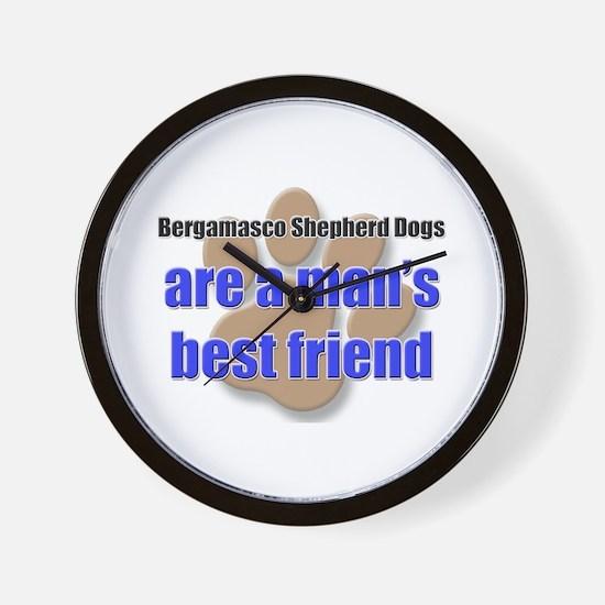 Bergamasco Shepherd Dogs man's best friend Wall Cl