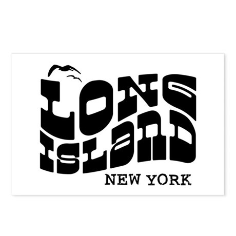 Long Island New York Postcards (Package of 8)