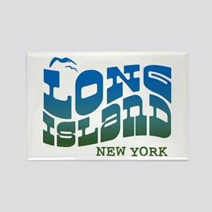 Long Island New York Rectangle Magnet