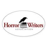 Horror Writers Association Oval Sticker (50 pk)