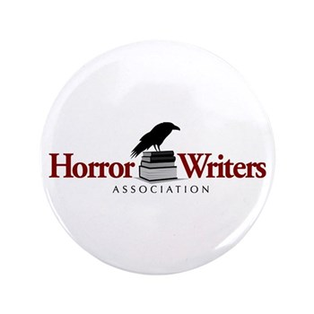 "Horror Writers Association 3.5"" Button"