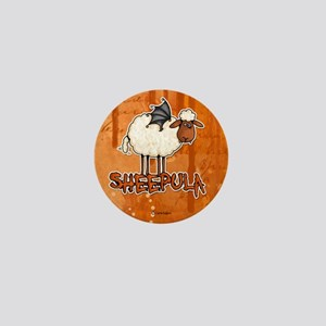sheepula Mini Button