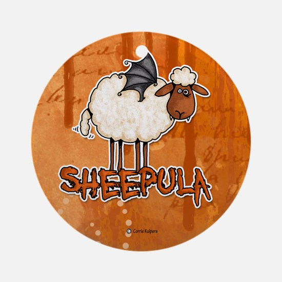sheepula Ornament (Round)