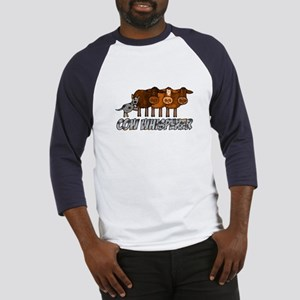 cow whisperer blue heeler Baseball Jersey