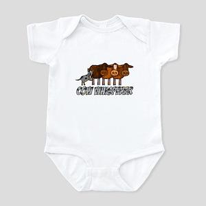 cow whisperer blue heeler Infant Bodysuit