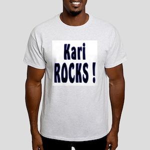 Kari Rocks ! Ash Grey T-Shirt