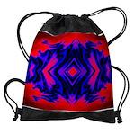 Fire Guardians Four Fractal Design Drawstring Bag