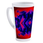 Fire Guardians Four Fractal Design 17 oz Latte Mug