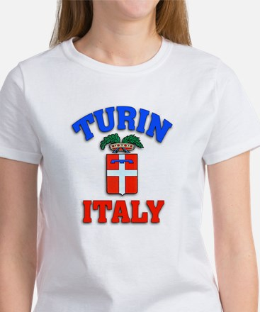 Turin Italy Workout and Play Gear Women's T-Shirt