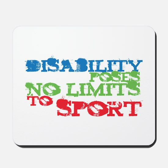 Special Olympics Mousepad