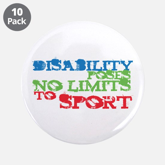 """Special Olympics 3.5"""" Button (10 pack)"""