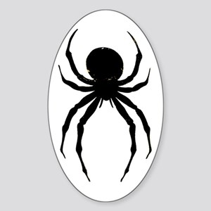 The Spider Oval Sticker