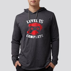Level 15 Complete 15th Birthday Long Sleeve T-Shir